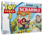 Mattel Gra Scrabble Junior Toy Story + film DVD
