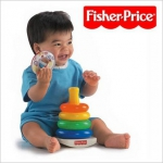 Piramidka z kółek Fisher Price