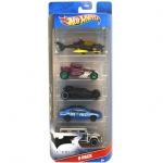 Hot Wheels Samochodziki 5 Pack - The Dark Knight W4240