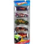 Hot Wheels Samochodziki 5 Pack - Heat Fleet 5 W4242