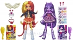 Lalki Pony Twilight Sparkle & Sunset Shimmer  Equestria Girls  A3997