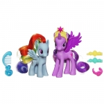 My Little Pony Księżniczka Twilight Sparkle i Rainbow Dash  A2004 (A2657)