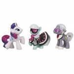 Kucyki Pony - My Little Pony Mini Kucyki Rarity, Photo Finish, Hoity Toity A0266 (A2033)