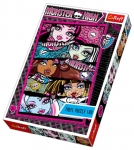 Puzzle Upiorne studenki Monster High 100 el.