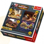 Puzzle 4 w 1 Angry Birds Na ratunek Galaktyce 34226
