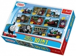 Puzzle 10w1 Trefl 90171 Thomas & Friends - Tomek - Mix
